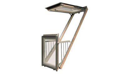 Вікно-балкон Fakro - факро галерія