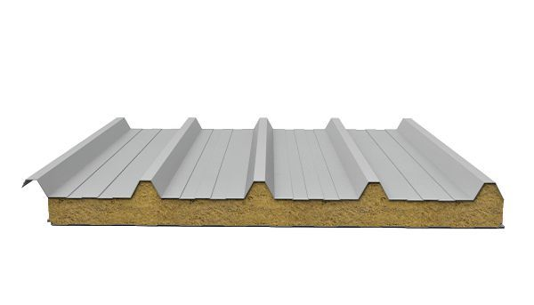 Сендвіч-панель покрівельна мінеральна вата