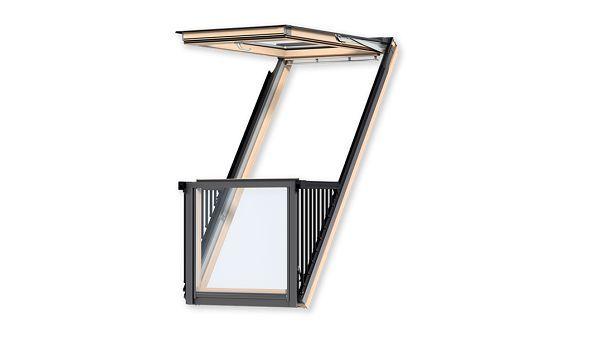 Velux GDL CABRIO - вікно-балкон кабріо