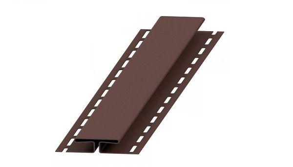 H-профіль коричневий Budmat